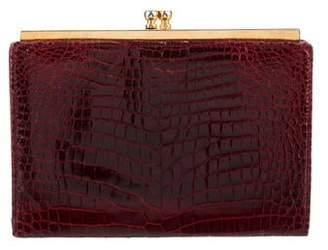 Gucci Vintage Crocodile Wallet