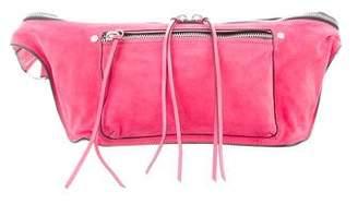 Rag & Bone Leather-Trim Suede Waist Bag