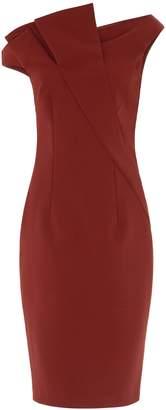 Aq/Aq Iris Structured Midi Dress