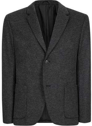Charcoal Skinny Fit Blazer $160 thestylecure.com