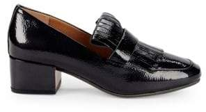Gentle Souls Ethan Patent Kilted Loafers