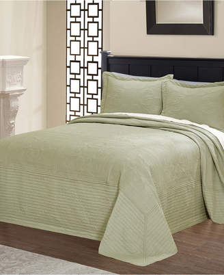 Pem America French Tile Quilted Twin Bedspread