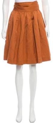 3.1 Phillip Lim Belted Knee-Length Skirt