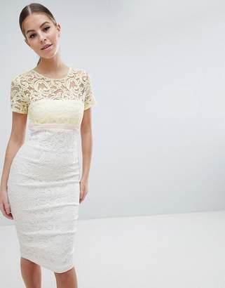 Vesper 2 in 1 Lace Pencil Dress