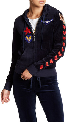 Juicy Couture Flight of Fancy Hoodie $248 thestylecure.com