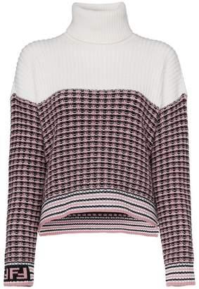 Fendi two-tone pullover