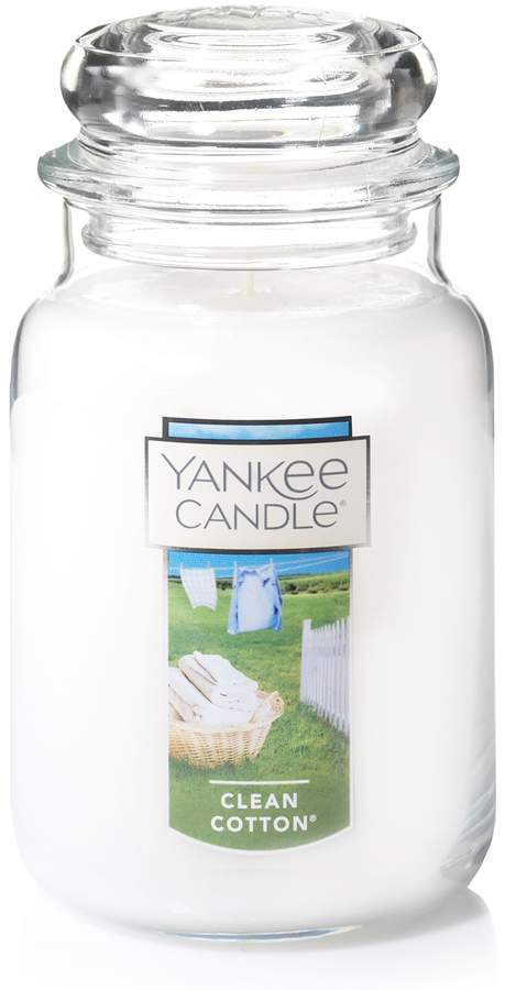 Clean Cotton 22-oz. Candle Jar