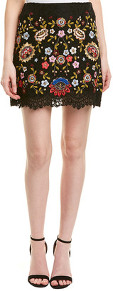 French Connection Mazie Floral Mini Skirt