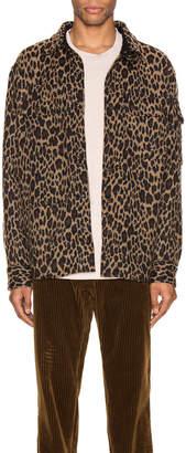Engineered Garments Field Shirt Jacket in Brown | FWRD