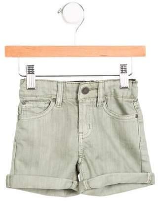 Stella McCartney Girls' Denim Cuffed Shorts