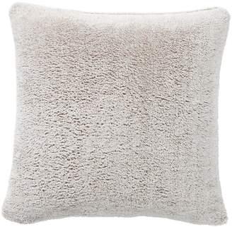 Pottery Barn Cozy Plush Faux Fur Pillow - Neutral