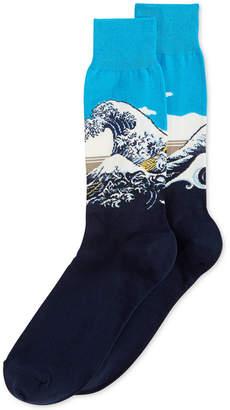 Hot Sox Men's Great Wave Socks
