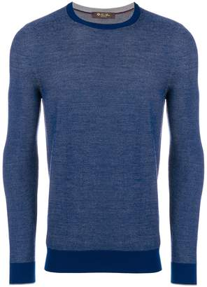 Loro Piana crew neck jumper