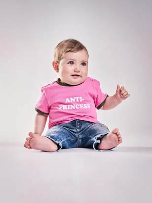 Diesel KIDS T-shirts and Tops 00YI9 - Pink - 12M
