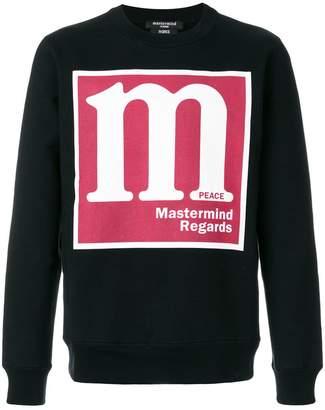 Mastermind Japan Regards logo sweatshirt