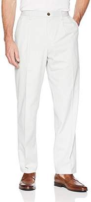 Amazon Essentials Men's Classic-Fit Wrinkle-Resistant Pleated Chino Pant