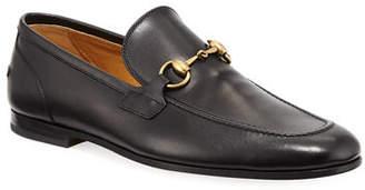 Gucci Men's Jordaan Soft Leather Bit-Strap Loafer