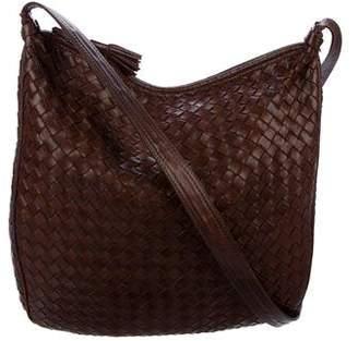 Bottega Veneta Vintage Intrecciato Leather Hobo