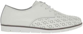 Comic White Flat Shoes