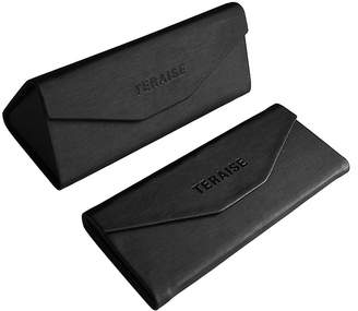 TERAISE Folding Glasses Case Glasses Storage Box Magnet Closure - for Office & Travel
