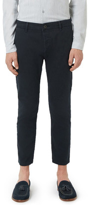 TOPMAN Crop Stretch Chinos $65 thestylecure.com