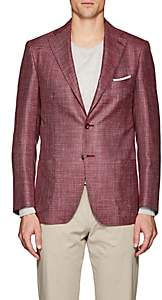 Piattelli MEN'S WOOL-BLEND TWO-BUTTON SPORTCOAT