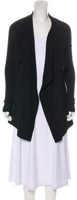 Givenchy Wool Open Front Cardigan