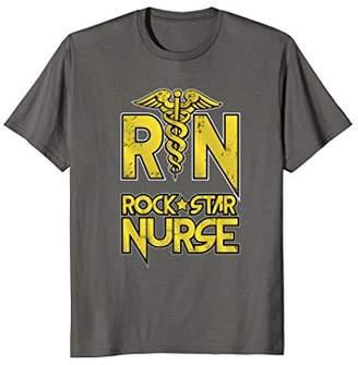 RN Rock Star Nurse Registered Nurse T-Shirt