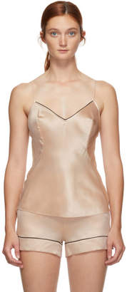 Agent Provocateur Pink Silk Classic Sleepwear Camisole