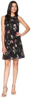 Calvin Klein Embroidered Trapeze Dress CD8H47NJ Women's Dress