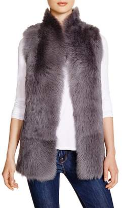 Whistles Reversible Sheepskin Vest - 100% Bloomingdale's Exclusive $950 thestylecure.com