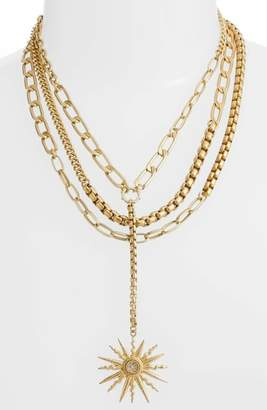 Vince Camuto Layered Chain Statement Necklace