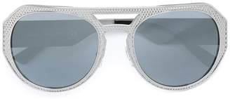Versace Eyewear 'Rock Icon' embossed sunglasses