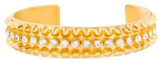 Tom Binns Studded Crystal Cuff