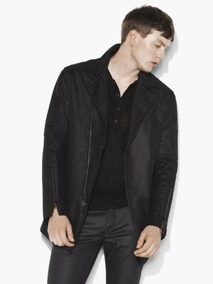 Asymmetric Zip Jacket $998 thestylecure.com