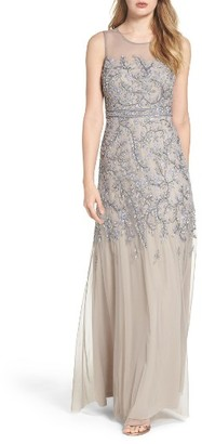 Women's Adrianna Papell Embellished Gown $379 thestylecure.com