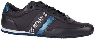 BOSS GREEN Leather Low-Top Sneakers