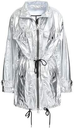 MICHAEL Michael Kors Metallic Shell Hooded Jacket