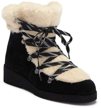 Australia Luxe Collective Jaden Genuine Sheepskin Lined Lace-Up Bootie