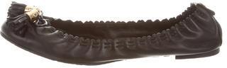 Tory BurchTory Burch Leather Tassel Flats