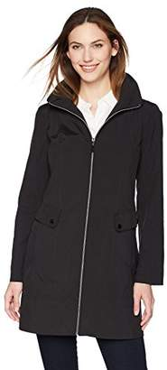Lark & Ro Women's Packable Hooded Jacket