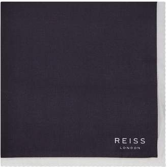 Reiss Alform Piped Pocket Square