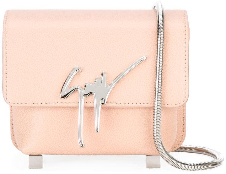 Giuseppe Zanotti Design Signature crossbody bag