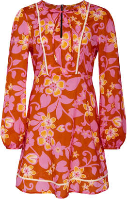 Warm Chelsea Printed Cotton Dress