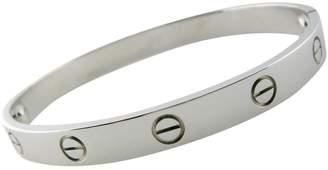 Cartier Love white gold bracelet