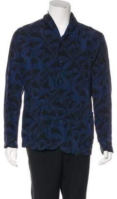 Giorgio Armani Abstract Print Jacket