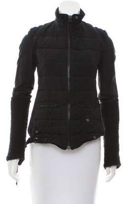 Greg Lauren Quilted Lace-Up Jacket