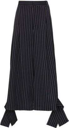J.W.Anderson wide-leg pinstripe trousers