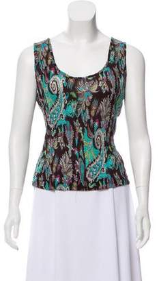 Alberto Makali Sleeveless Printed Top