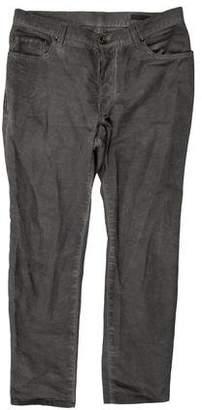 John Varvatos Cropped Five Pocket Skinny Jeans